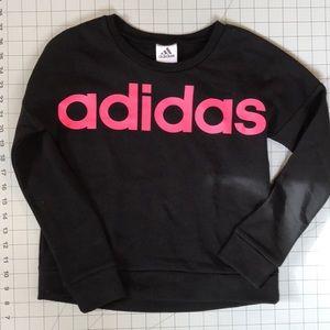Adidas sweatshirt for girl sz 10